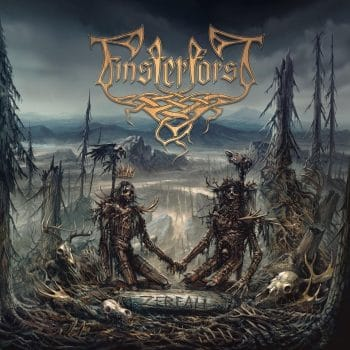 RockmusicRaider - Finsterforst - Zerfall - Album Cover