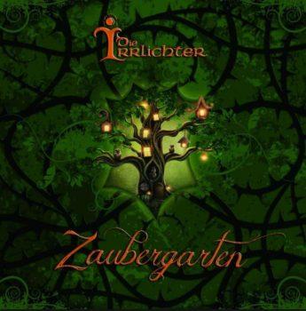 RockmusicRaider - Die Irrlichter - Zaubergarten - Album Cover