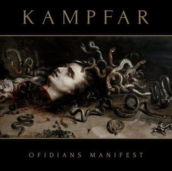 RockmusicRaider - Kampfar - Ofidians Manifest - Album Cover