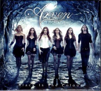 RockmusicRaider - Arven - Black is the Colour - Album Cover