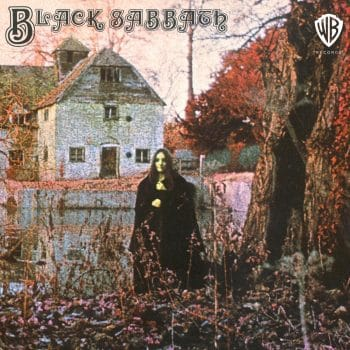 RockmusicRaider - Black Sabbath - Self-Titled - Album Cover