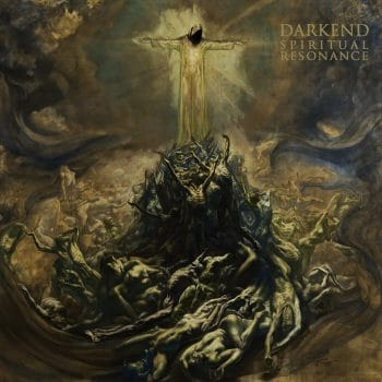 RockmusicRaider - Darkend - Spiritual Resonance - Album Cover