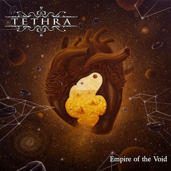 RockmusicRaider - Tethra - Empire of the Void - Album Cover